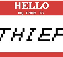 Hello, My Name is Thief by bookishkate