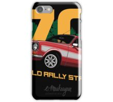 Ford Escort RS1600 (red) iPhone Case/Skin