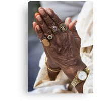 Precious Hands Canvas Print