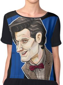 The Eleventh Doctor Chiffon Top