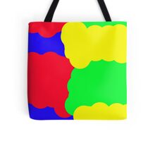 Colorful clouds Tote Bag