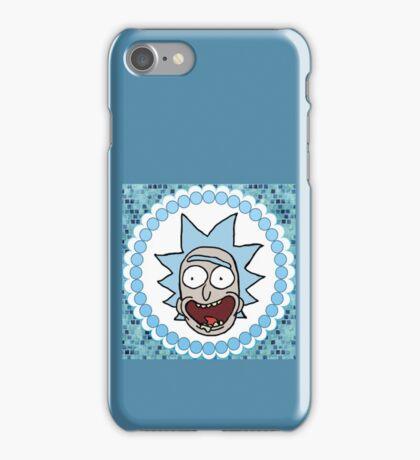 Keep It Classy Happy Rick Sanchez  iPhone Case/Skin