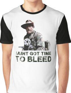 Predator I Aint Got Time To Bleed Graphic T-Shirt