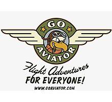 GoAviator - Flight Adventures for Everyone (Wings) Photographic Print