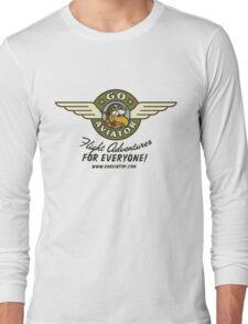 GoAviator - Flight Adventures for Everyone (Wings) Long Sleeve T-Shirt