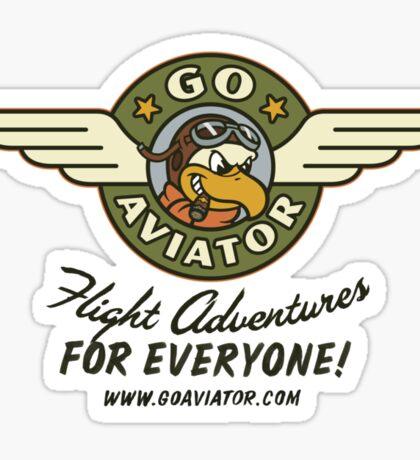 GoAviator - Flight Adventures for Everyone (Wings) Sticker