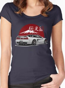 Acura / Honda NSX (white) Women's Fitted Scoop T-Shirt