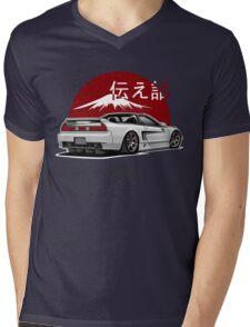 Acura / Honda NSX (white) Mens V-Neck T-Shirt