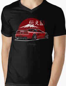 Acura / Honda NSX (red) Mens V-Neck T-Shirt