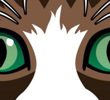 Crinkle Ear Cat Sticker