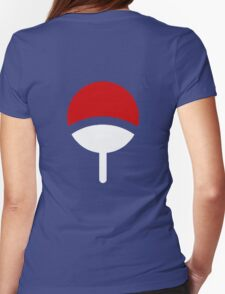 CLAN UCHIHA LOGO Womens Fitted T-Shirt