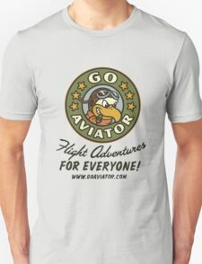GoAviator - Flight Adventures for Everyone (No Wings) Unisex T-Shirt