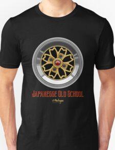 Sakura Wheels Chery Blossom (gold) Unisex T-Shirt