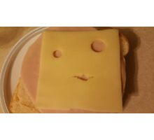 Happy Cheese Is Happy To See You Photographic Print