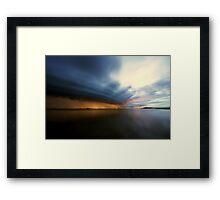 King Island Storm Framed Print