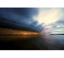 King Island Storm Photographic Print