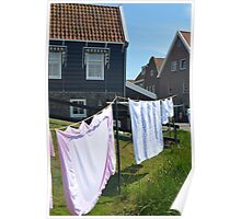 Laundry of Marken Poster
