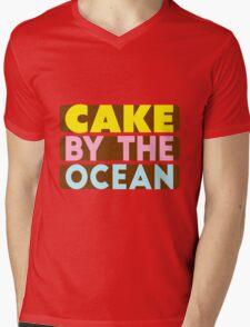 Cake By The Ocean Mens V-Neck T-Shirt