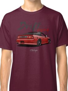 Nissan Silvia S13, 200SX, 240SX (red) Classic T-Shirt