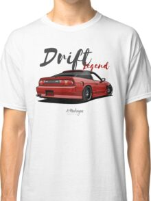 Nissan Silvia S13, 200SX, 240SX (red) Classic T-Shirt