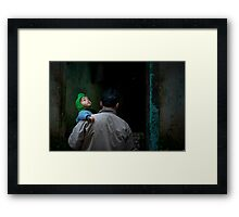 Looking up ... Framed Print