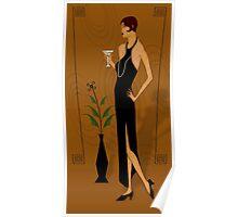 Gatsby Girl Poster
