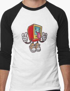 Computer peace Men's Baseball ¾ T-Shirt