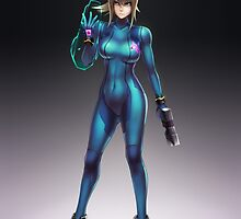 Zero Suit Samus 2014 by hybridmink