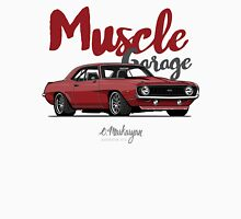 Muscle Garage. Camaro SS 1969 (red) Unisex T-Shirt