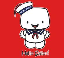 Hello Sailor! One Piece - Short Sleeve