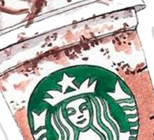 Starbucks coffe love Sticker
