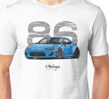 Toyota GT86 (blue) Unisex T-Shirt