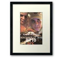 Yung Shula vs Flambient UFC 306 Framed Print