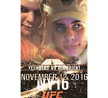 Yung Shula vs Flambient UFC 306 Photographic Print
