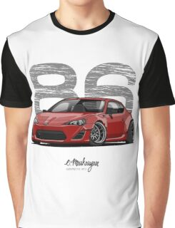 Toyota GT86 (red) Graphic T-Shirt