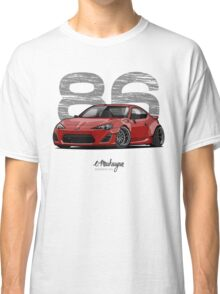 Toyota GT86 (red) Classic T-Shirt