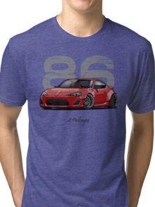 Toyota GT86 (red) Tri-blend T-Shirt
