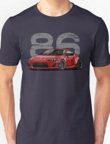 Toyota GT86 (red) Unisex T-Shirt