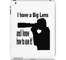 Big Lens iPad Case/Skin