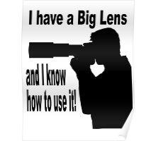 Big Lens Poster