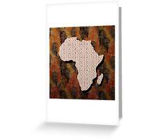 Motherland  Greeting Card