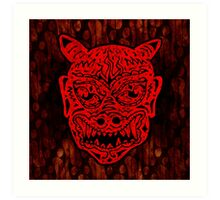 Handsome Devil Mask #1 Art Print