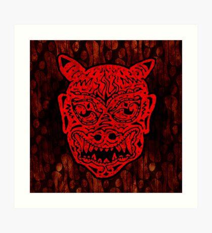 Handsome Devil Mask #1 Art Print