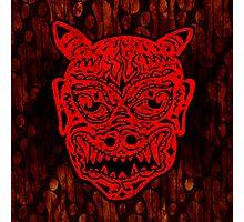 Handsome Devil Mask #1 Photographic Print
