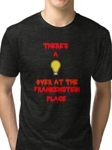 There's a Light (T-Shirt & Sticker) Tri-blend T-Shirt