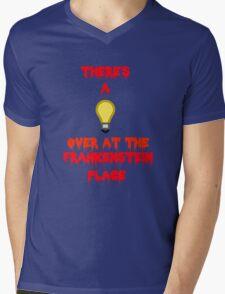 There's a Light (T-Shirt & Sticker) Mens V-Neck T-Shirt