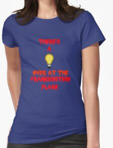 There's a Light (T-Shirt & Sticker) Womens Fitted T-Shirt
