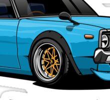 Nissan Skyline GTR Kenmeri (blue) Sticker