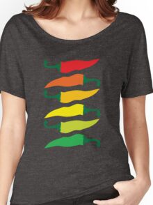 Ripening Chili Peppers Women's Relaxed Fit T-Shirt
