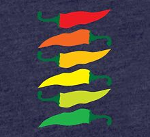 Ripening Chili Peppers Tri-blend T-Shirt